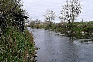 Der River Clare im Parish Lackagh, County Galway