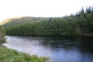 Glenmoriston - The River Moriston