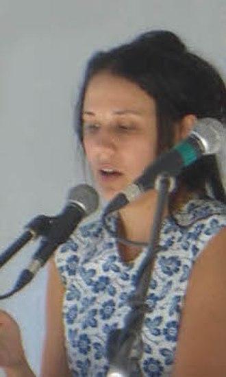 Rivka Galchen - Galchen speaking at the 2009 Brooklyn Book Festival.