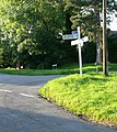 Road junction in Gaulby - geograph.org.uk - 501151.jpg