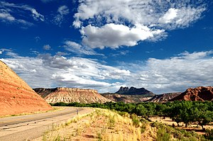 Washington County, Utah - Road to Zion National Park
