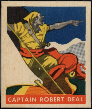 Robert Deal (pirate) - Pirate Robert Deal, ship's mate under Charles Vane and later Captain