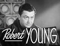 Robert Young in Bridal Suite trailer.jpg