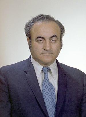 Rocco Petrone - Official NASA portrait