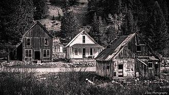 Rocky Bar, Idaho - Rocky Bar, Idaho Ghost town