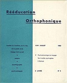revue rééducation orthophonique