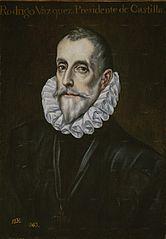 Portrait of Rodrigo Vázquez de Arce