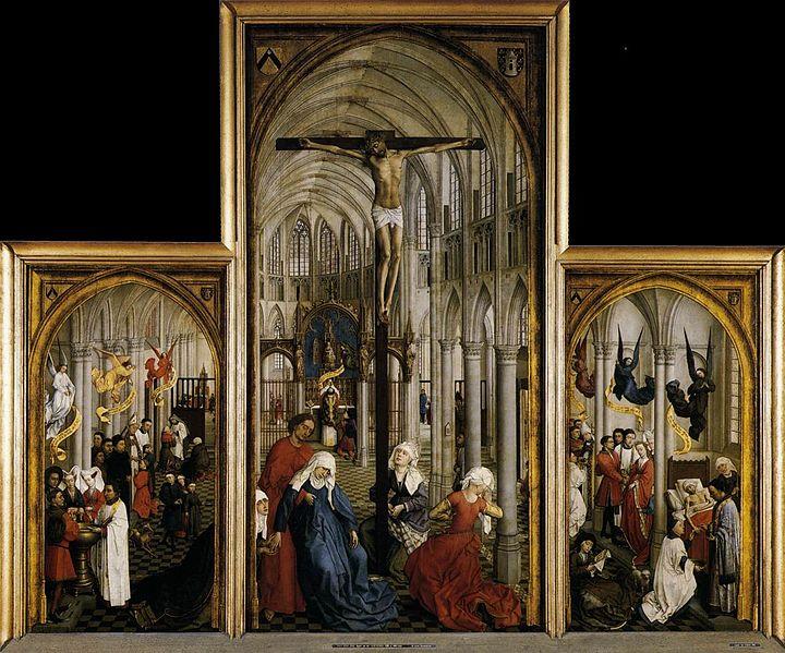 Septénaire Miséricordieux des Sacrements par Don Guéranger 720px-Rogier_van_der_Weyden_-_Seven_Sacraments_Altarpiece_-_WGA25602