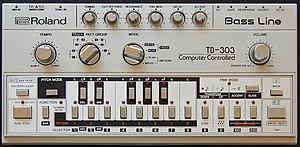 Roland TB-303 - Image: Roland TB 303 Panel