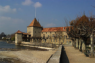 Rolle - Image: Rolle Schloss