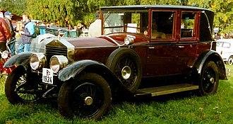 Rolls-Royce Twenty - Image: Rolls Royce 20 HP 1924
