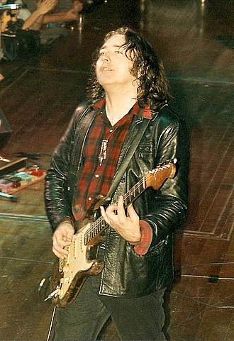 Rory Gallagher - Gallagher playing in Utrecht, Netherlands, in 1987