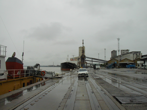Port of Rosario - Cargo pier at the port