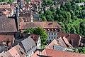 Rothenburg ob der Tauber, Burggasse 1, 3, vom Rathausturm 20170526 001.jpg