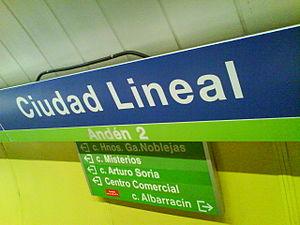 Estación de Ciudad Lineal