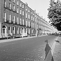 Row of houses, Lower Baggot Street, Dublin (with shadows) (28889580902).jpg