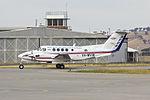 Royal Flying Doctor Service (VH-MVW) Beechcraft Super King Air B200C at Wagga Wagga Airport.jpg