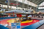Royal Military Museum, Brussels - F-16 Fighting Falcon - HDR (11448937016).jpg