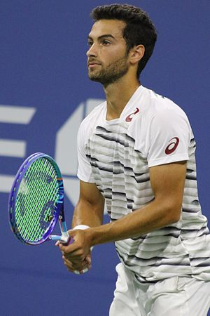 Noah Rubin (tennis) - Rubin at the 2016 US Open