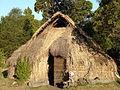 Ruca Mapuche en comunidad Quelhue.JPG