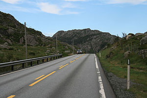 Bjerkreim - View of the Bjerkreim landscape