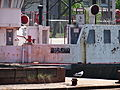 Rusty old Ro-Ro ferry Maple City, moored in the Keating Channel, 2015 05 17 -a (17843220165).jpg