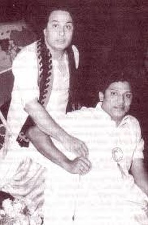 S. S. Rajendran - Image: S.S.R with M.G.R