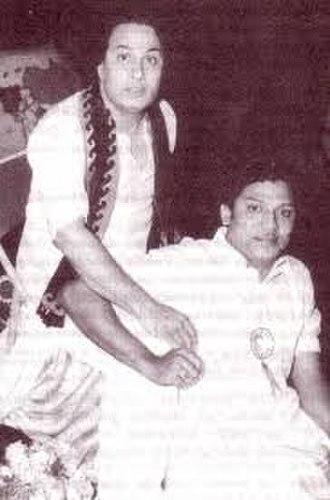 S. S. Rajendran - S.S. Rajendran with M.G.R.