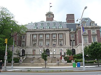 Staten Island Borough Hall - Richmond Terrace facade