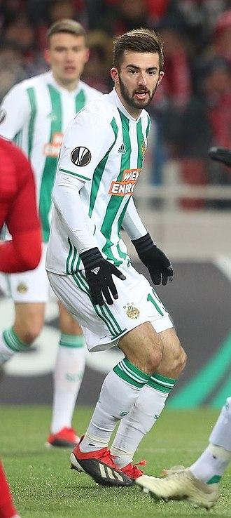 Marvin Potzmann - Potzmann with SK Rapid Wien in 2018