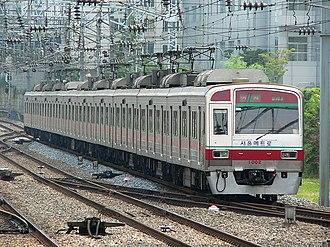 Seoul Subway Line 1 - Image: SMSC Line 1 VVVF