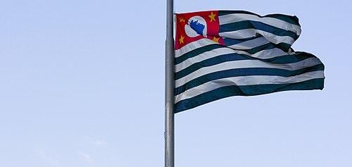 Resultado de imagem para a bandeira do estado de sp