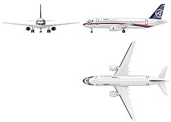SSJ100 Three views drawing (5476115362).jpg