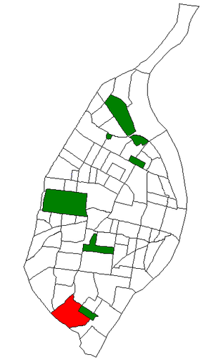 Boulevard Heights, St. Louis - Image: STL Neighborhood Map 04