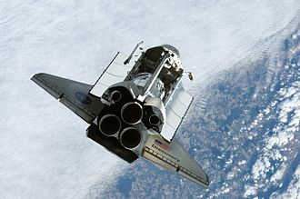 STS-120 - Discovery approaches the ISS