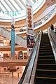 SZ 深圳 Shenzhen 南山 Nanshan 南海大道 Nanhai Blvd 來福士廣場 Capitaland Raffles City Mall October 2017 IX1 interior escalators 16.jpg