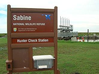 Sabine National Wildlife Refuge - Sabine National Wildlife Refuge - Hunter Check Station