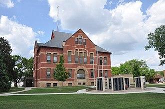 Sac County, Iowa - Image: Sac City IA County Courthouse