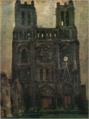 SaekiYūzō-1925-Notre-Dame(Mantes-la Jolie).png