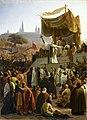 Saint-Bernard prêchant la 2e croisade, à Vézelay, en 1146.jpg