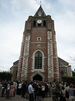 Saint-Chrysole church at Verlinghem, France.jpg