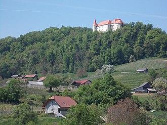 Bizeljsko Castle - Image: Saint Margaret Church, Kunšperk 09