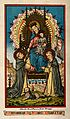 Saint Mary (the Blessed Virgin) with the Christ Child and Sa Wellcome V0033995.jpg