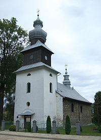 Saint Michael Archangel Orthodox church in Zagórz.jpg