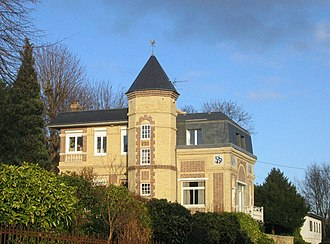 Sainte-Adresse - Sarah Bernhardt's villa