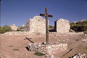 Salinas Pueblo Missions National Monument - Gran Quivira ruins