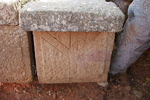 Tipasa - Christian tomb from a Roman Tipasa basilica