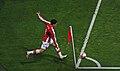 Samir Nasri Arsenal corner kick.jpg