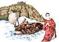 San Cesario diacono ed i suoi compagni naufragano a Terracina (Monte Sant'Angelo).jpg