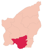 Fiorentino's location in San Marino